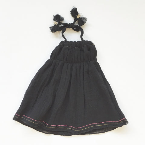DOLL DRESS - BLACK