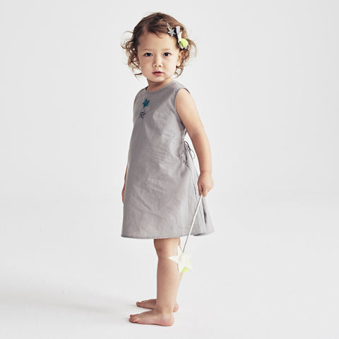 A-Mia Dress in Gray
