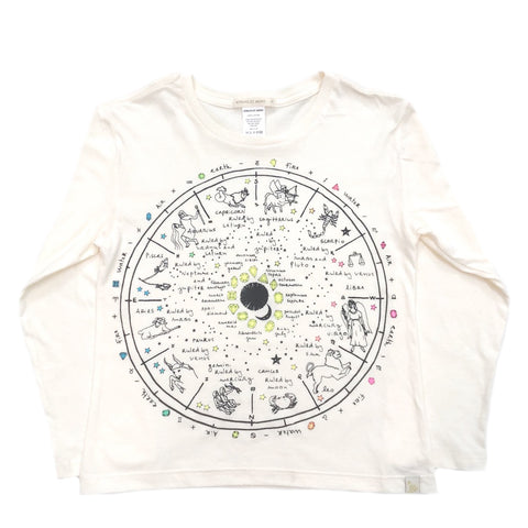 AA-The Wheel Of Life in Lara Long Sleeve Tee in Natural