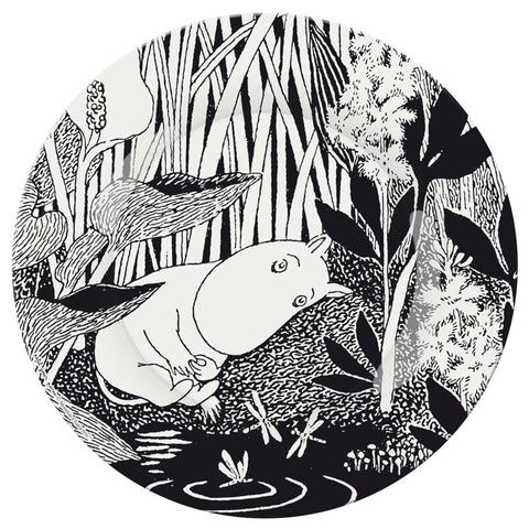 "DESSERT PLATE - MOOMiN ""THE MEETiNG"""