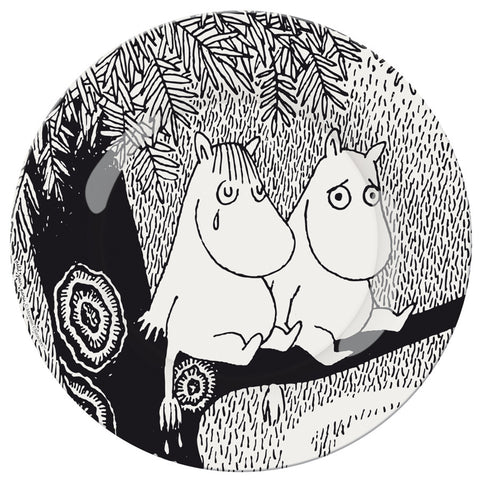 "DESSERT PLATE - MOOMiN ""A BEAUTiFUL DAY"""