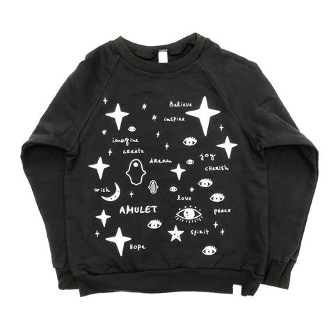 AA-Team Amulet Fleece Long Sleeve Pullover in Black