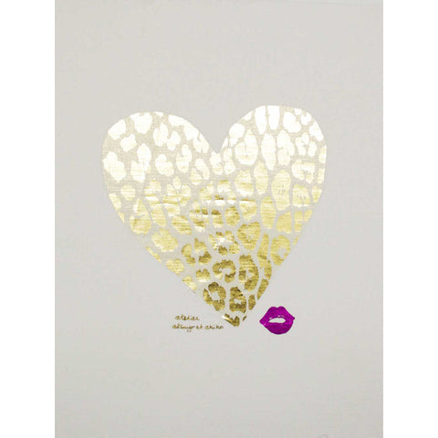 WALL ART - LEO HEART - L