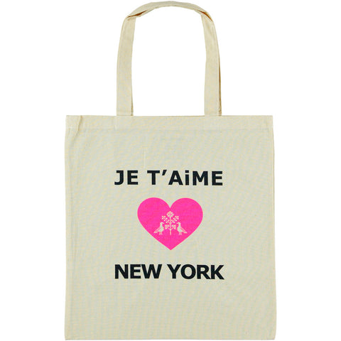Je T'aime New York Lightweight Cotton Bag