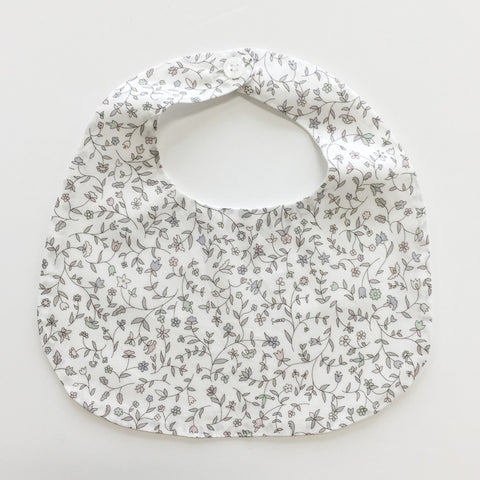 BiB - MAKiE -  WiTH BUTTON-FLOWERS(ORANGE)