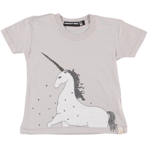 TEE COTTON CREW - GOLDEN UNiCORN