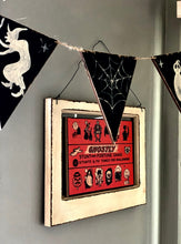 Load image into Gallery viewer, Wooden Halloween Banner