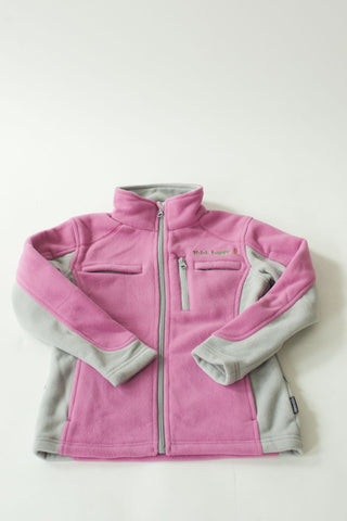 Girls' Pink Fleece Jackets with PICC Line and Port Access for Pediatric Cancer Patients undergoing Chemotherapy Infusions