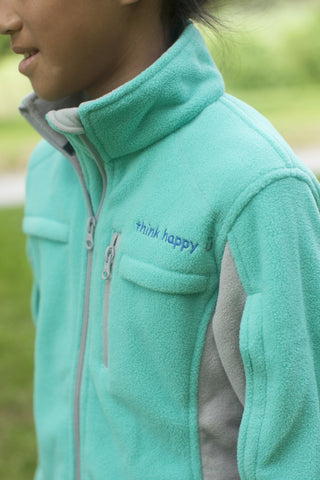 Chemo Cozy Teal Fleece for Pediatric Cancer Patients
