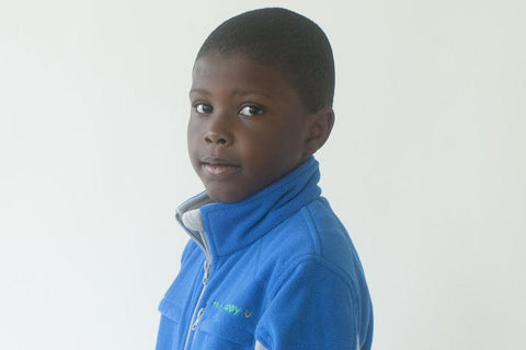 Boys' Fleece Jacket - Blue