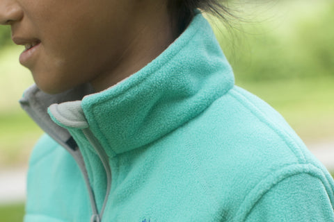 Boys' Fleece Jacket - Teal