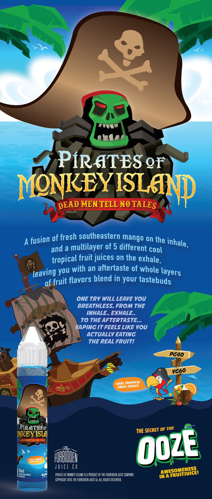 Pirates of Monkey Island Juice eLiquid