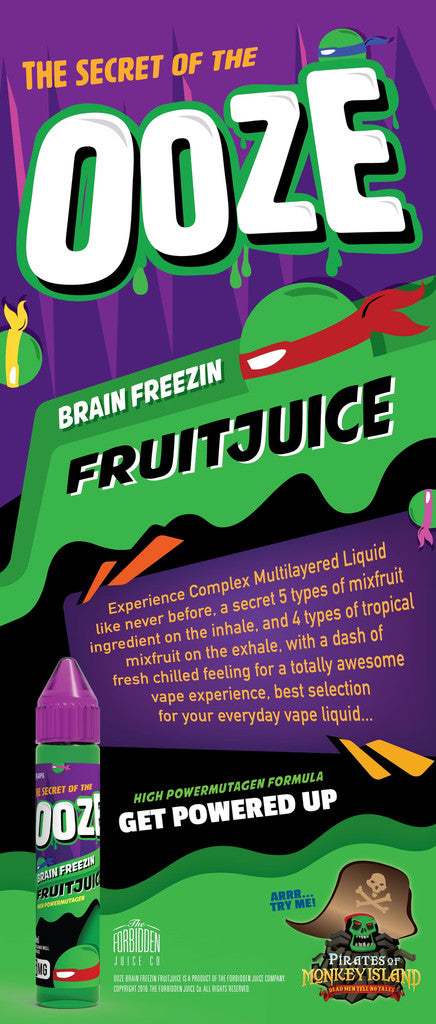 Ooze Fruitjuice Liquid Description