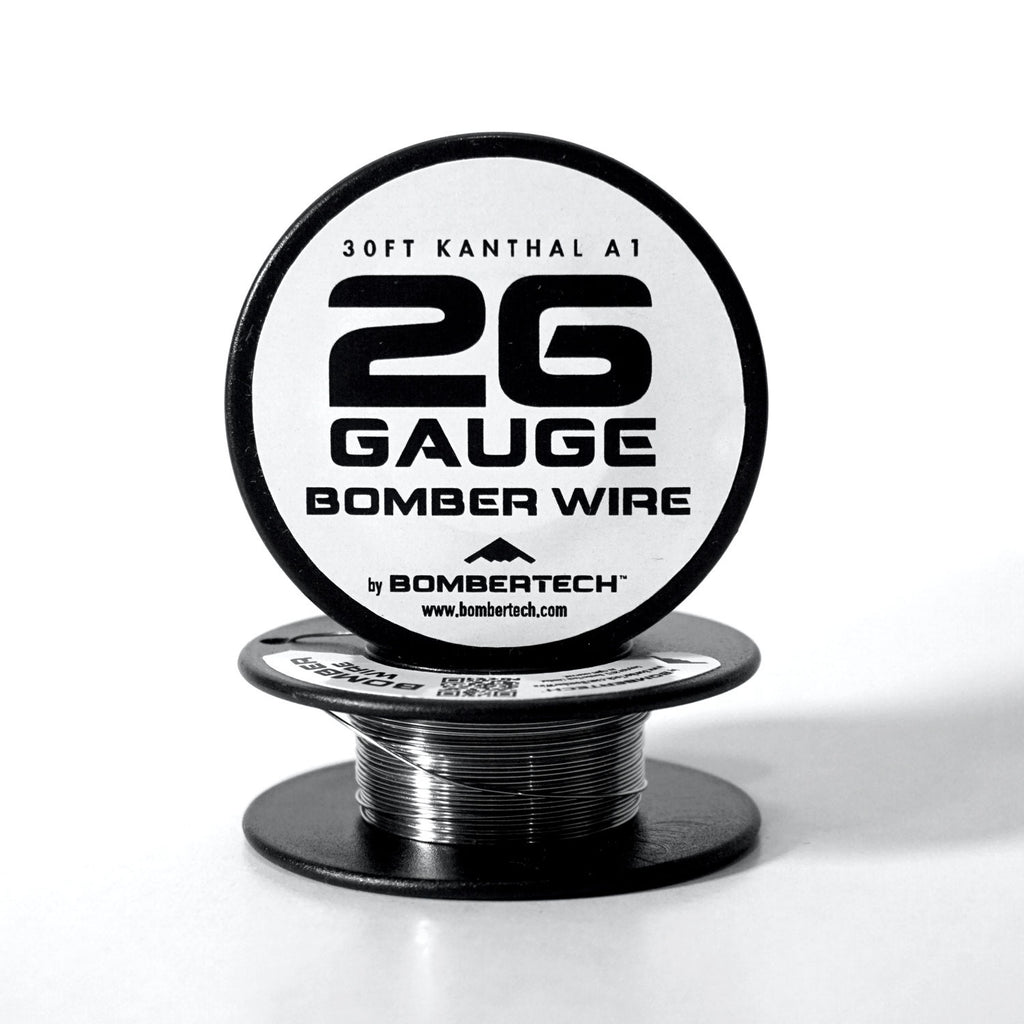 Bomberwire indovape personal vaporizers bomber kanthal wire 26 gauge greentooth Image collections