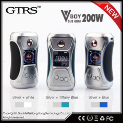 New Edition! GTRS VBOY 200 V2 TC Box MOD with SX500 Chip