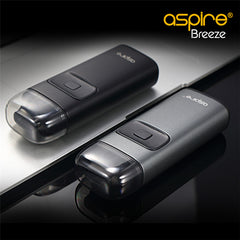 Aspire Breeze AIO Kit - 650mAh + FREE Charging Dock