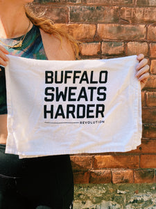 Buffalo Sweats Harder Sweat Towel