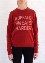 Load image into Gallery viewer, Buffalo Sweats Harder™ Crew Neck - Brick