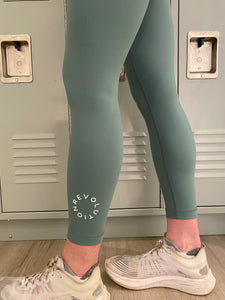 "lululemon Wunder Under HR Tight 25"" FLUX"