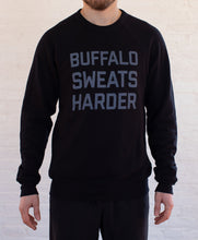 Load image into Gallery viewer, Buffalo Sweats Harder™ Crew Neck - Black