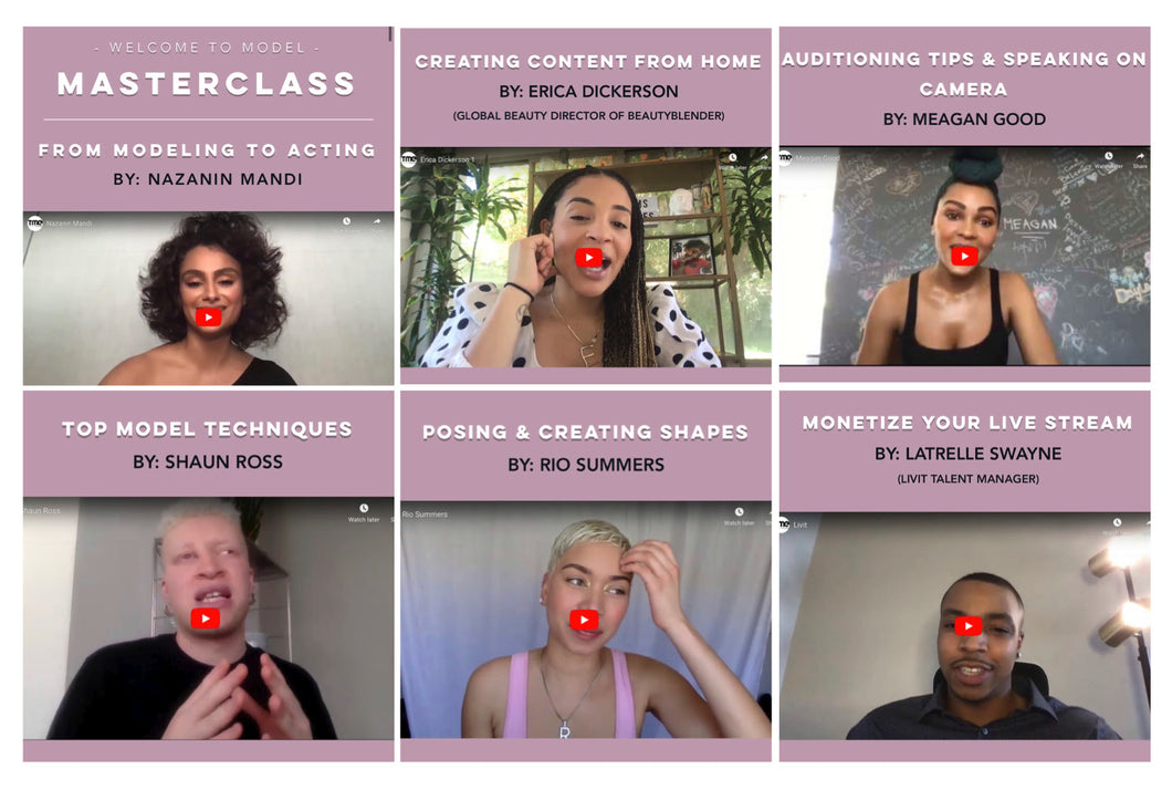 Model Masterclass Online Course