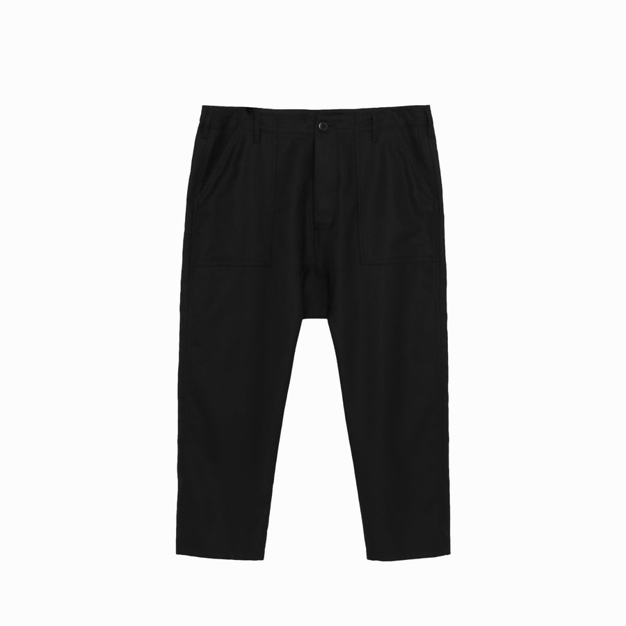 Maverick Drop Crotch Pant in Black.