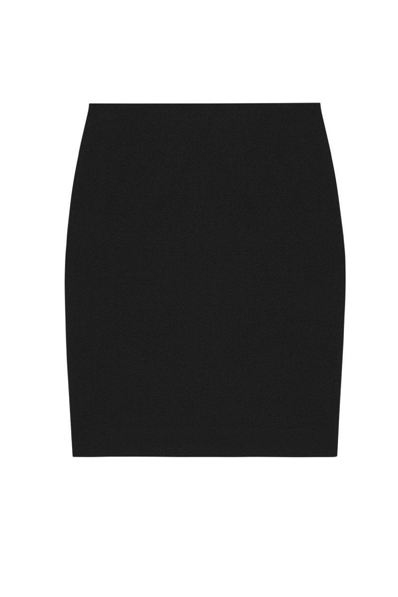 Pencil Skirt in Black.