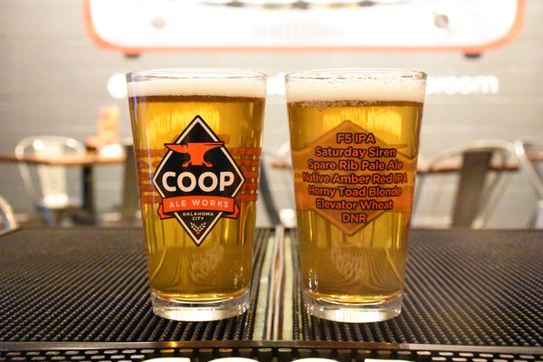 16oz COOP Glass