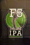 "23"" F5 IPA Tin Sign"
