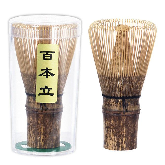 Dark Bamboo Whisk (Chasen)