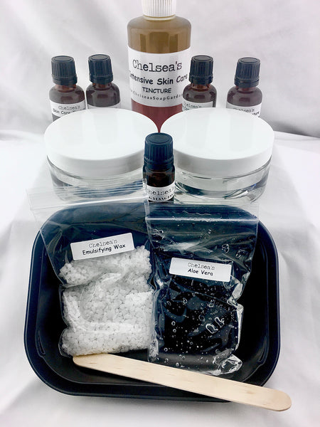 Chelsea's Melt & Stir Lotion Making Instructions