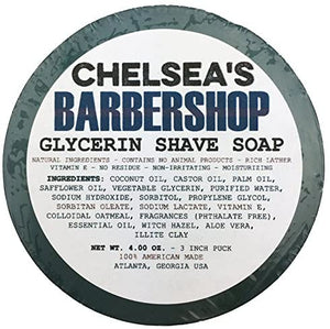 Chelsea's Barber Shop Shaving Soap