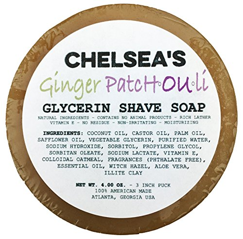 Chelsea's Ginger Patchouli Shaving Soap
