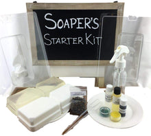 Load image into Gallery viewer, Soaper's *M&P Soap Making Starter Kit 2 lbs.