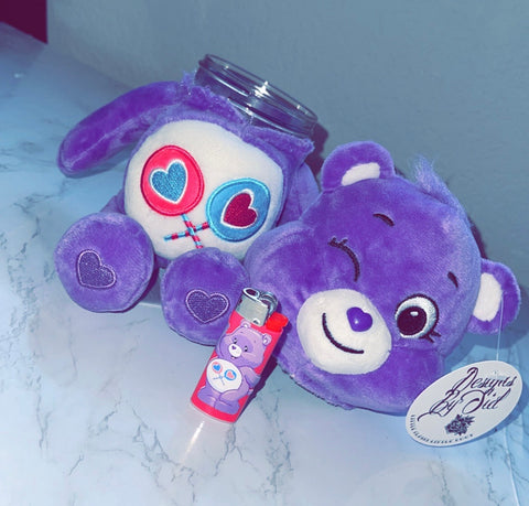 Share Bear Care Bear Stash Jar & Lighter