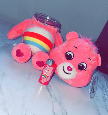 Cheer Bear Care Bear Stash Jar & Lighter