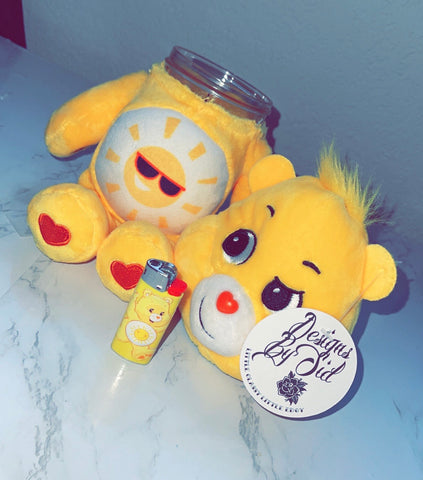 Fun Shine Bear Care Bear Stash Jar & Lighter