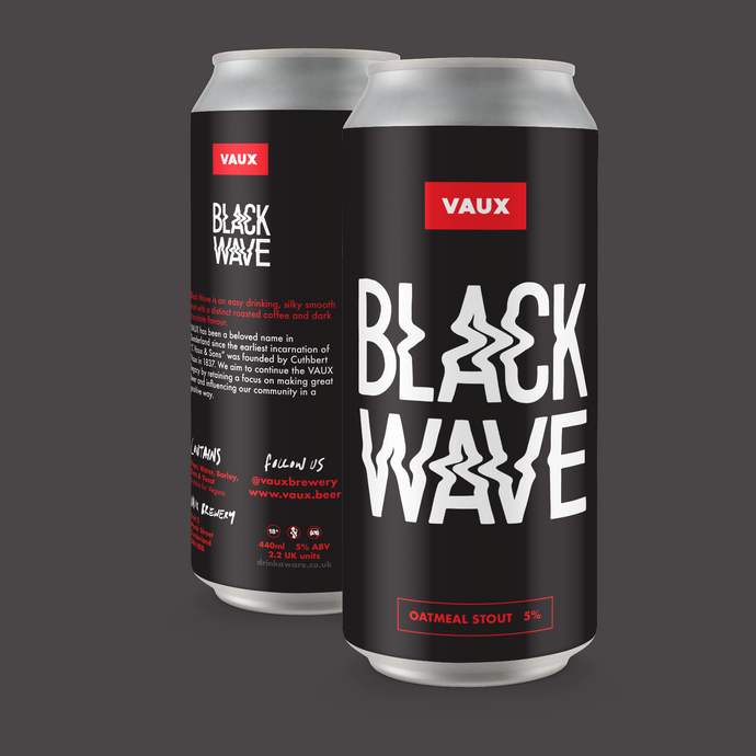Black Wave - Oatmeal Stout - 440ml can