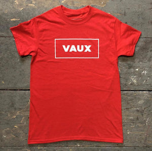 Red VAUX t-shirt