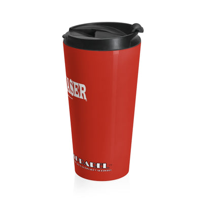 Paperchaser Stainless Steel Travel Mug Red