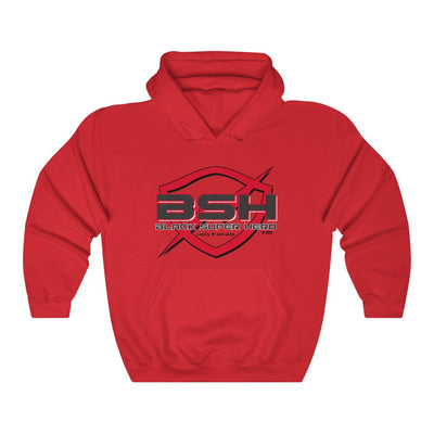 Black Super Hero Unisex Heavy Blend™ Hooded Red size: S-3XL
