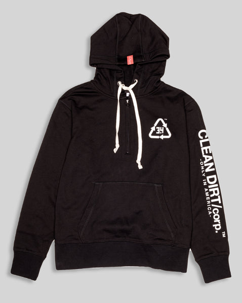 Common Law Hoodie - Black