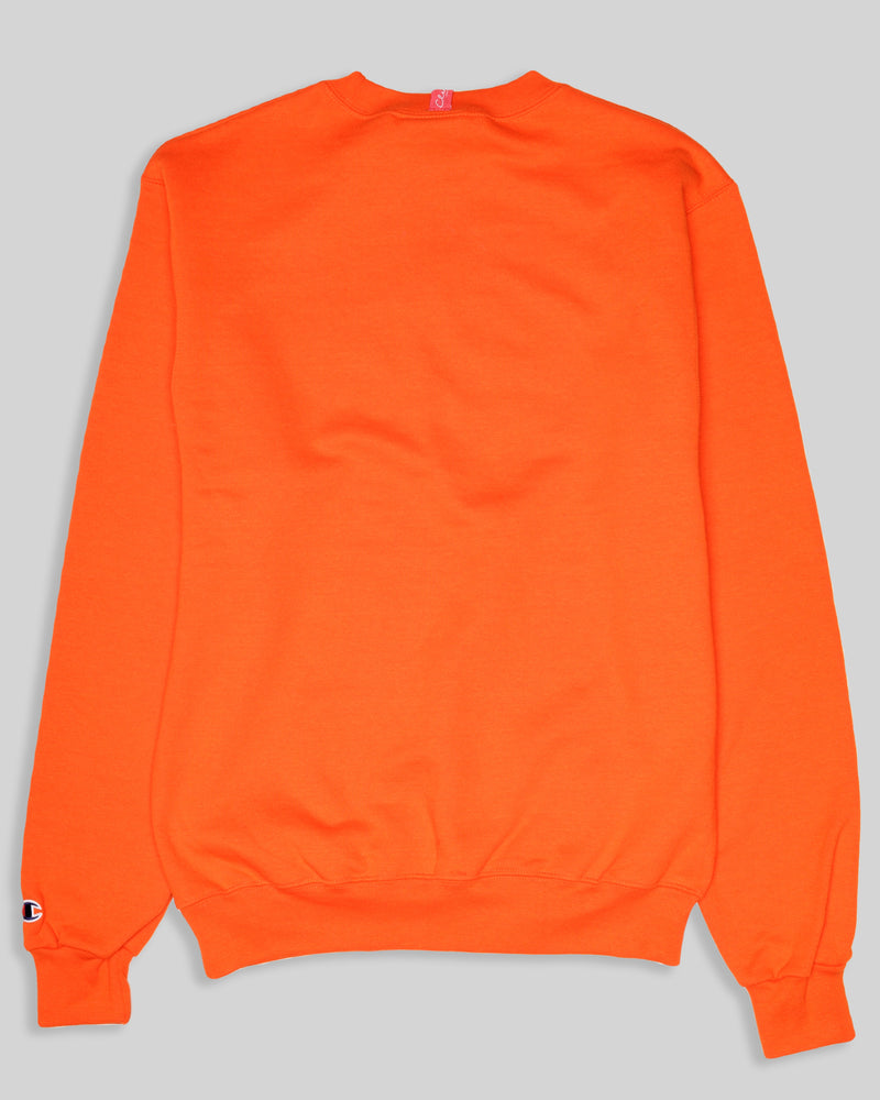 The Champ - Astro Orange /w Navy Blue