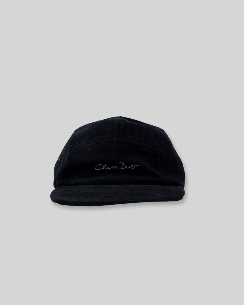 CleanDirt 5-Panel Velour Cap