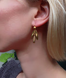 Victorian Gold Earrings Circa 1860-70