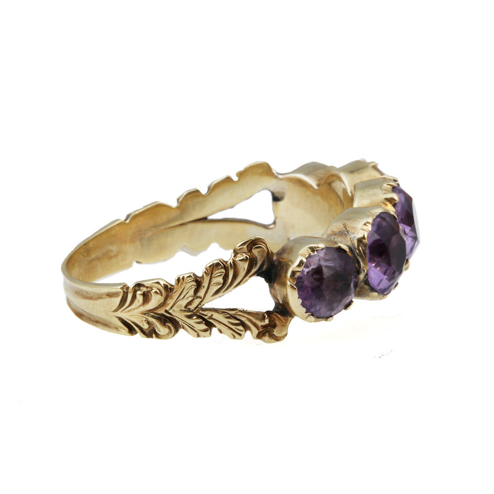 Early 19th Century Amethyst Ring