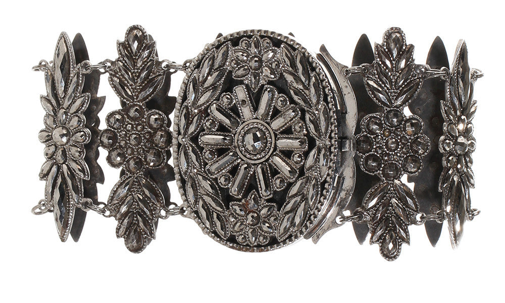Early 19th Century French Cut Steel Plaque Bracelet