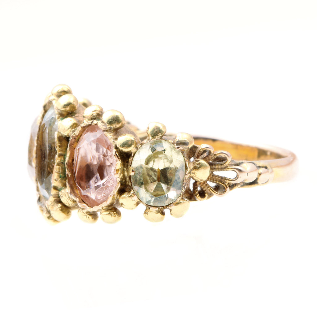 Georgian 5 - Stone Ring