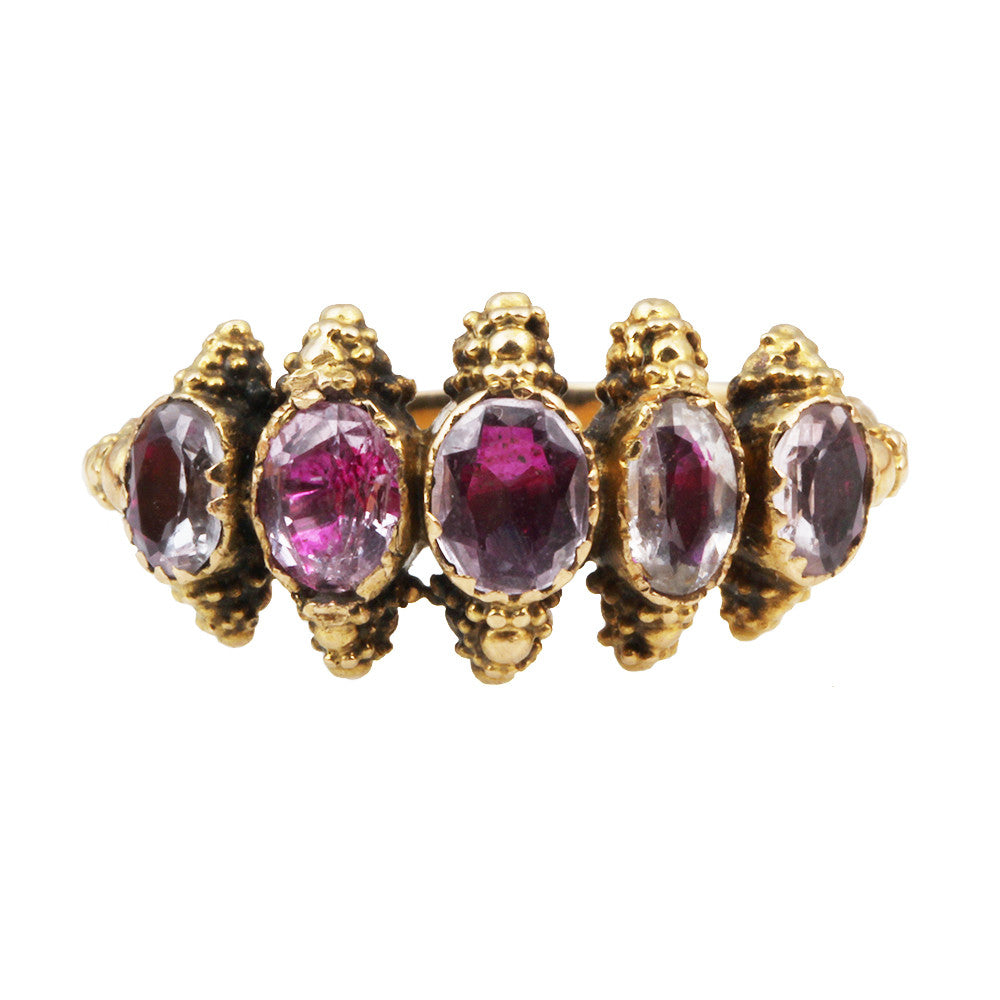 Cannetile Pink Topaz Ring