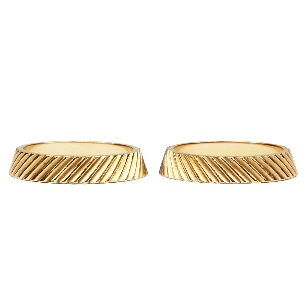 Vintage Cartier Stacking Gold Bands
